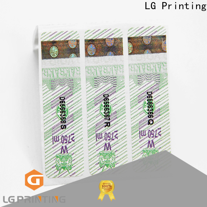 LG Printing sticky labels for jars for box