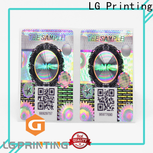 LG Printing Professional manufacturers of security void labels vendor