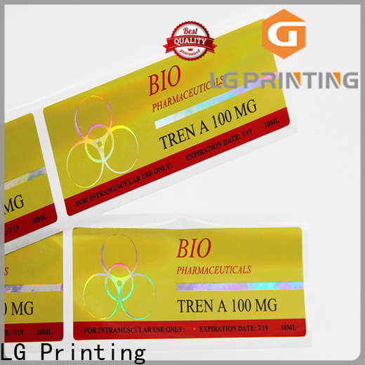 LG Printing holographic material factory for metal box surface