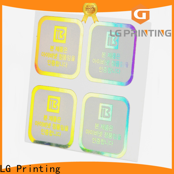 Bulk holographic products price for metal box surface