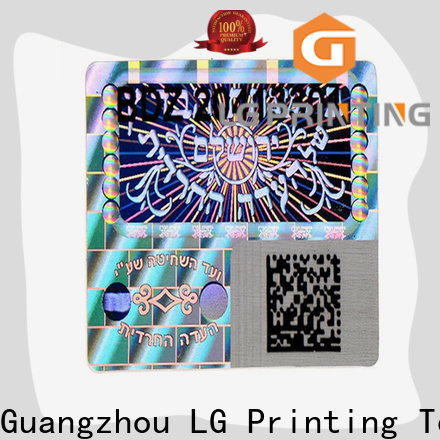 LG Printing Top hologram transparent suppliers for cosmetics