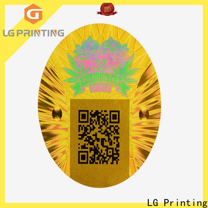 LG Printing golden laser hologram cost for electronics