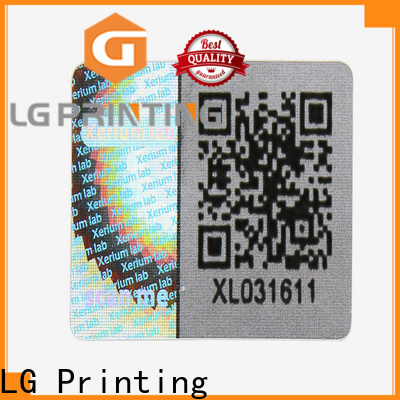 LG Printing one time hologram sticker printer machine price for pharmaceuticals