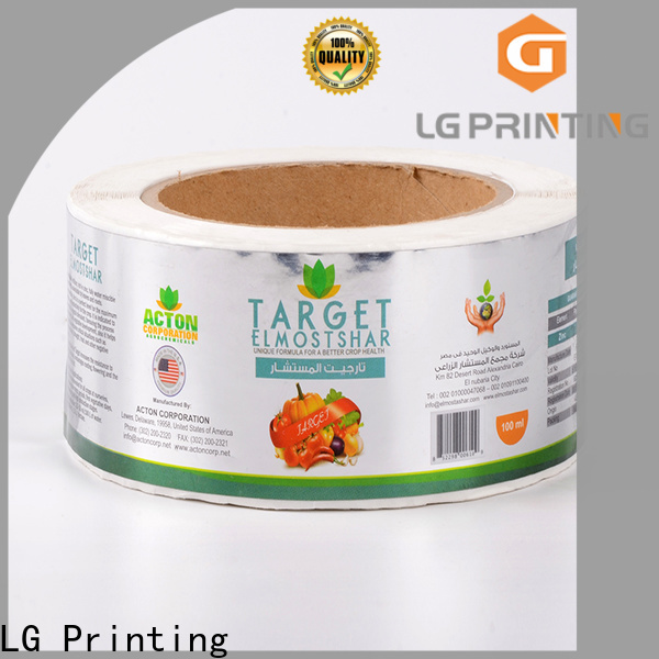 LG Printing Top cheap custom packaging boxes suppliers for bottle