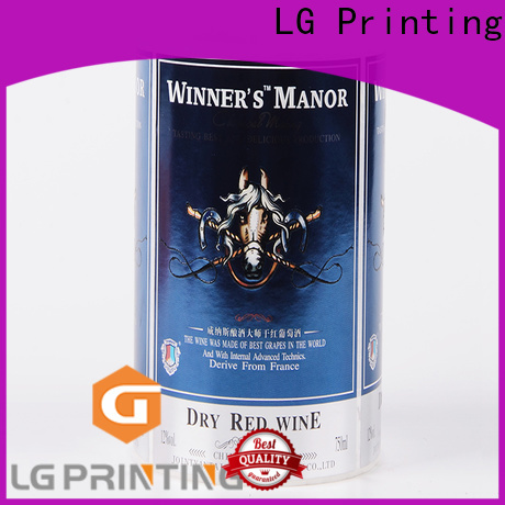 LG Printing Buy custom adhesive stickers cost for bottle