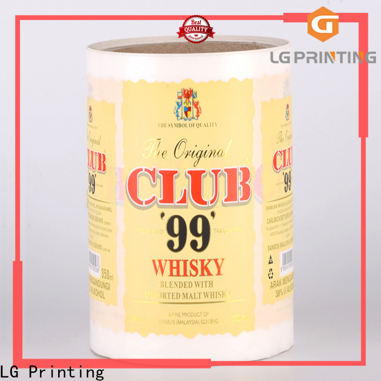 Buy personalised packaging gold factory price for bottle