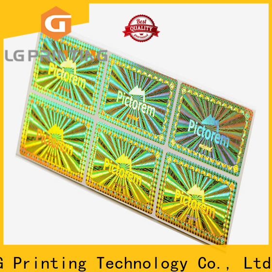 High-quality 3d hologram sticker machine numbering factory for cosmetics