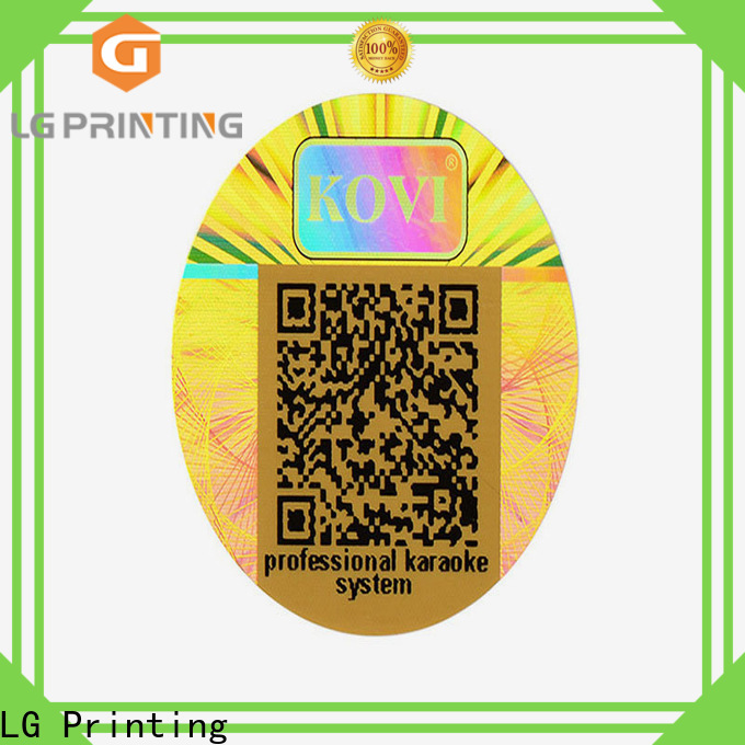 High-quality chloe hologram sticker silver factory price for pharmaceuticals