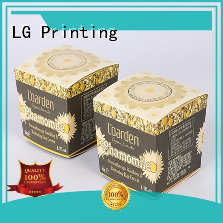 LG Printing cosmetic box printing