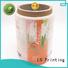 bopp custom waterproof labels supplier for jars LG Printing