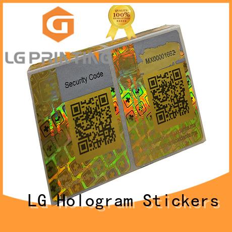 LG Printing various white barcode manufacturer for door