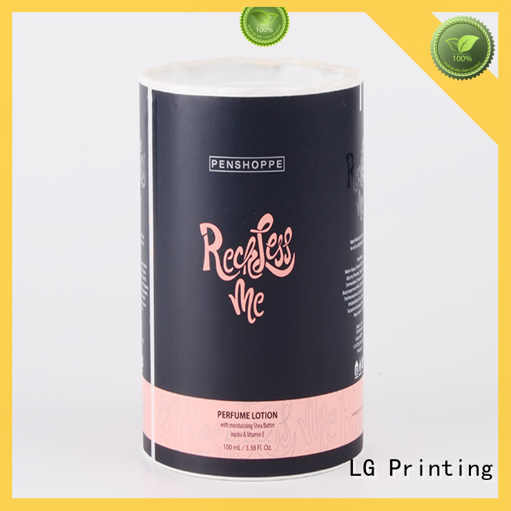 LG Printing pvc digital labels manufacturer for cans