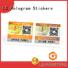 Best custom sticker labels for bottles company for goods