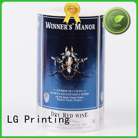 self adhesive label pvc logo Bulk Buy roll LG Printing