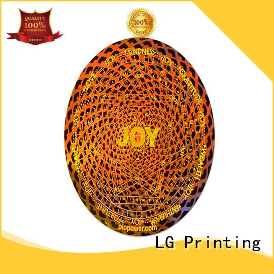 LG Printing various void label manufacturer for refrigerator
