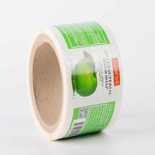 LG Printing pvc custom label printing factory for jars