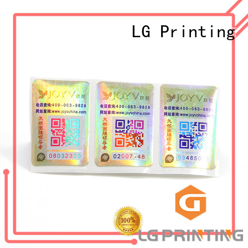 LG Printing product protection for business for bag