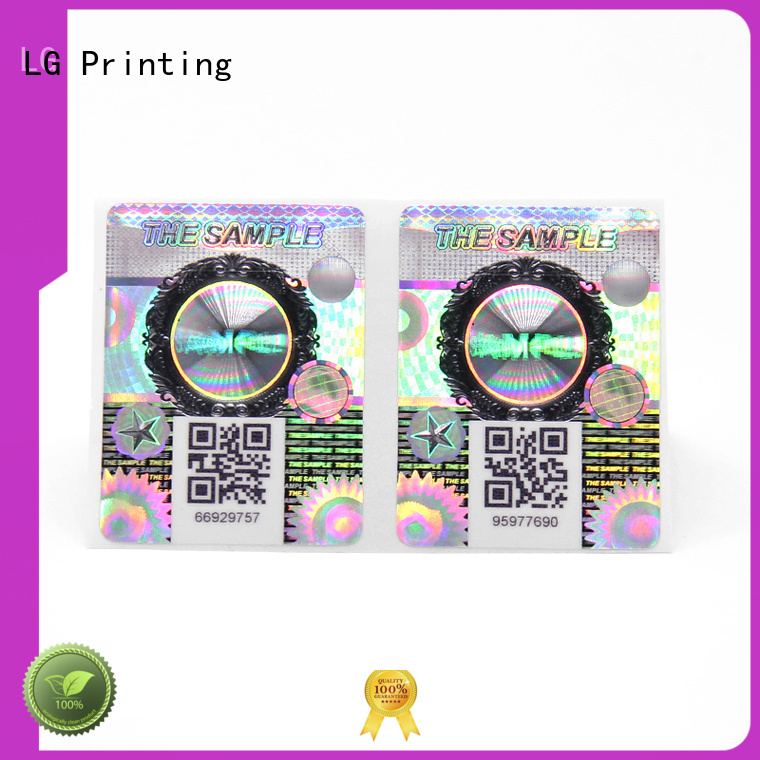 LG Printing New bopp label printing factory for box