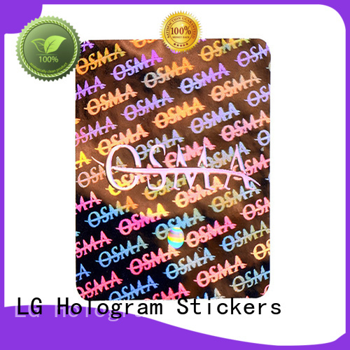 colorful print qr code stickers void label for table