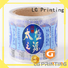 jar waterproof adhesive labels hologram LG Printing Brand company