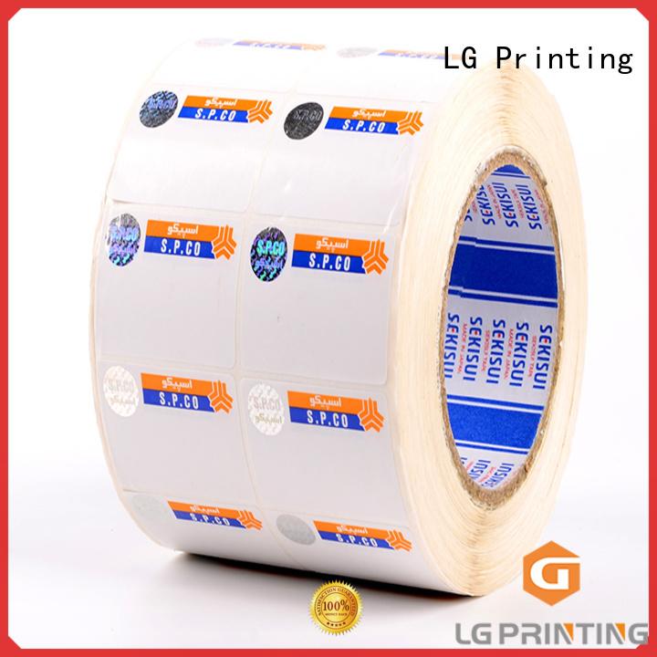 standard security hologram label supplier for goods
