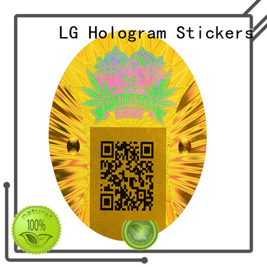 LG Printing authentic qr codes on labels & stickers logo for table