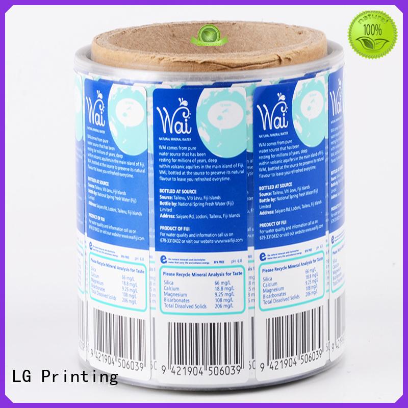 LG Printing foil packaging wholesalers manufacturer for jars
