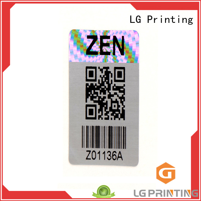 hologram sticker gold for door LG Printing