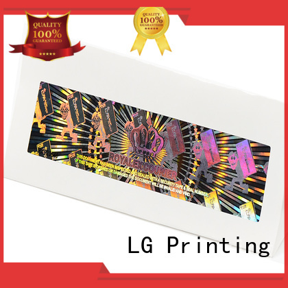 LG Printing scratched static sticker printer logo for door