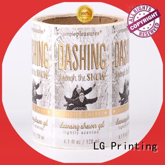 LG Printing hologram corrugated packaging series for wine bottle