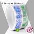 transparent label manufacturers bopp series for jars