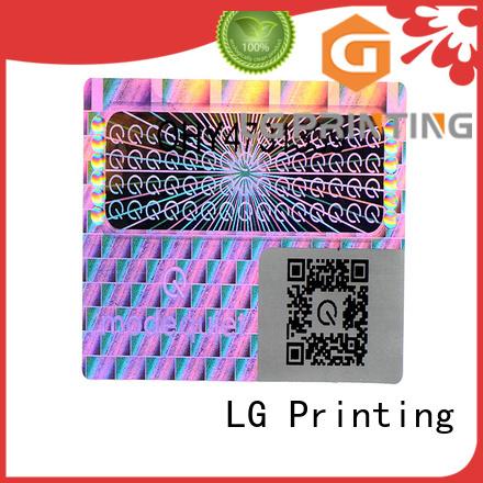 numbering hologram printing manufacturer for refrigerator LG Printing