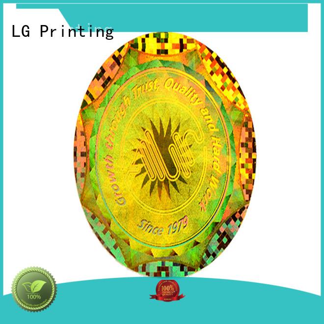 LG Printing hologram laser hologram series for refrigerator