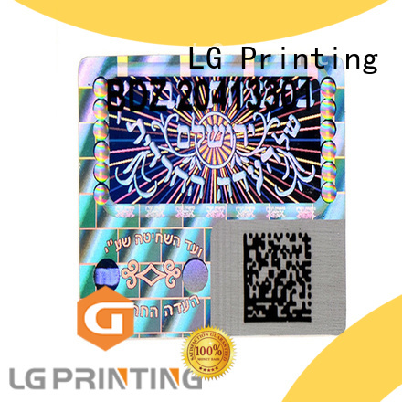 various holographic sticker printing one time series for door