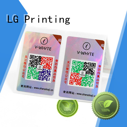 LG Printing counterfeit solutions manufacturers for box