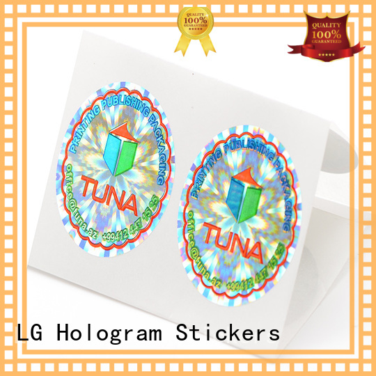 void hologram stickers online one time label for table