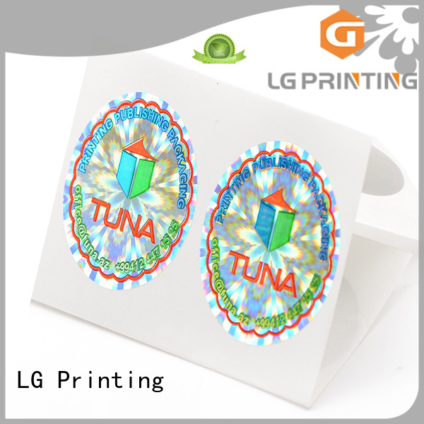 LG Printing various made in the usa sticker label for table
