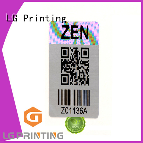 LG Printing round holograms for sale supplier for refrigerator