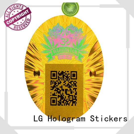 gold void sticker silver for door LG Printing