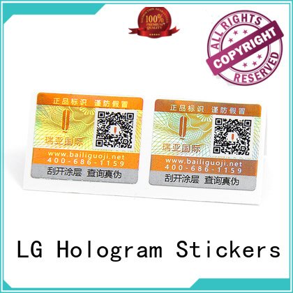 New hologram sticker manufacturers Supply for products