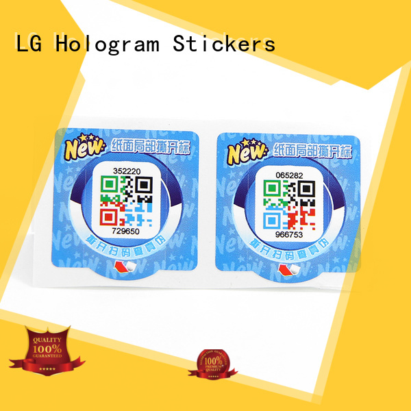 Custom tamper proof stickers Suppliers for products