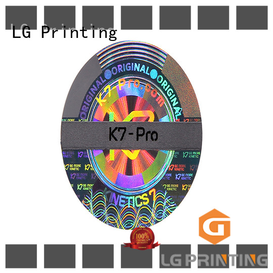 LG Printing authentic hologram printing series for door