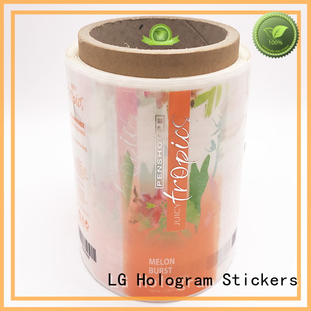 custom wine labels bopp for jars LG Printing