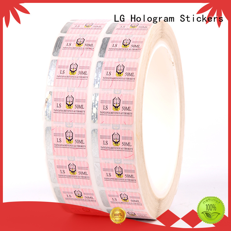security labels PE for products LG Printing