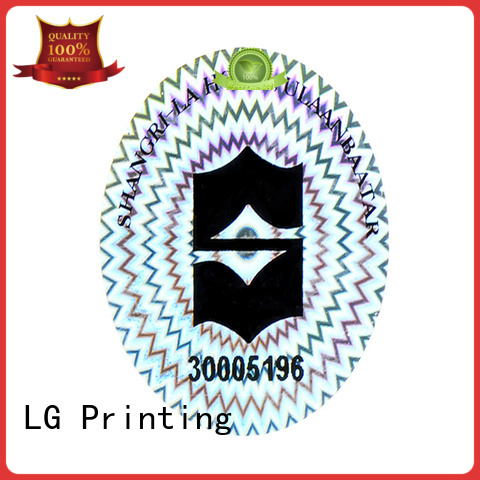 void hologram stickers demelized manufacturer for table