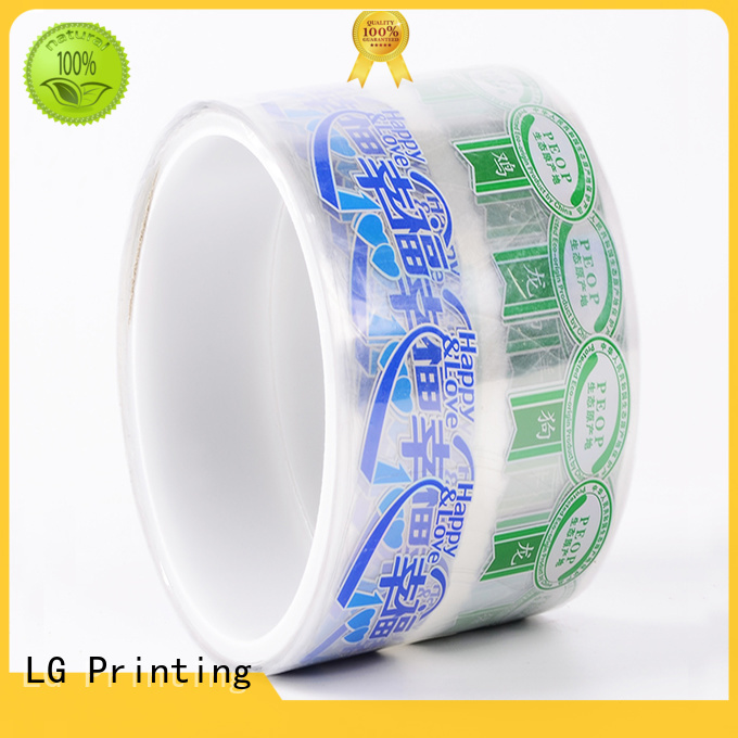LG Printing quality contract packaging manufacturer for bottle