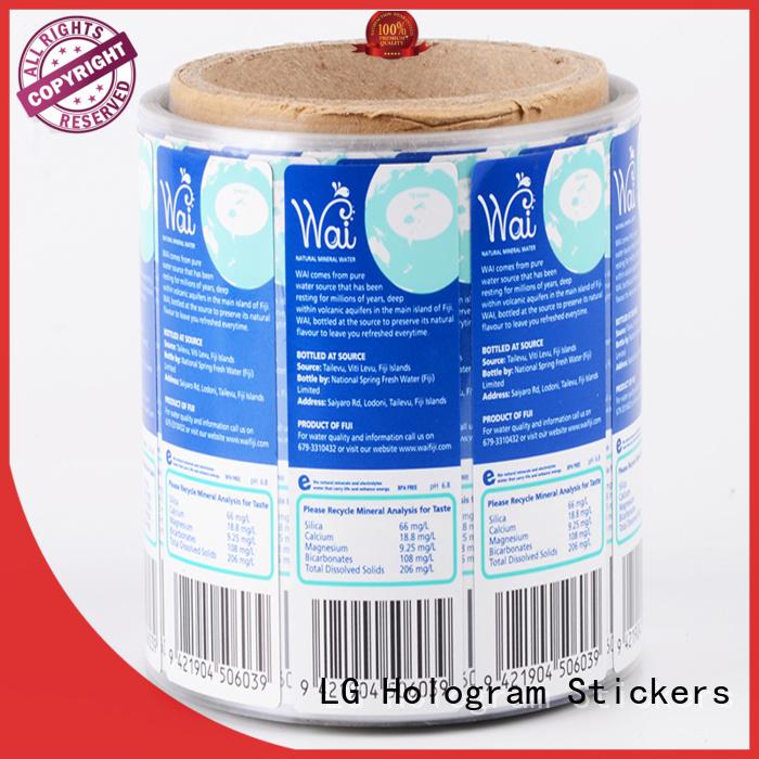 LG Printing printing custom food packaging manufacturer for jars