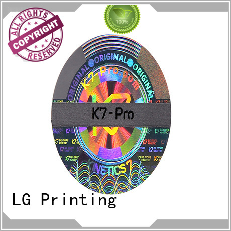 various holo stickers hologram label for refrigerator