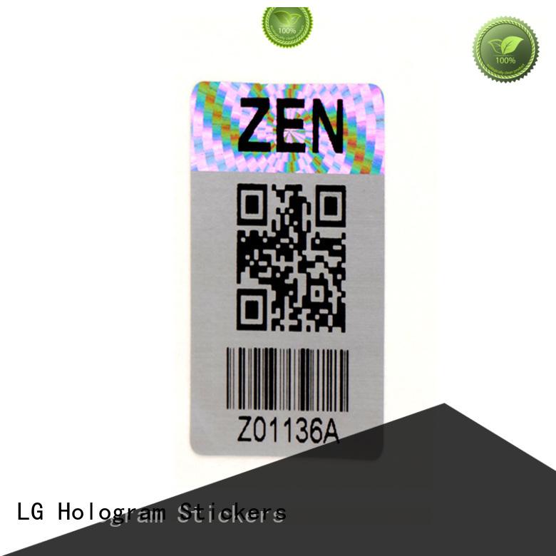 LG Printing barcode we print barcodes series for table
