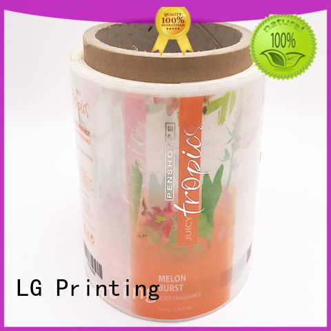 LG Printing foil shorewood packaging factory for jars